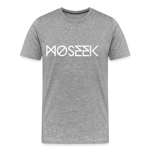 Grey MoSeek T-ShirtT - Männer Premium T-Shirt