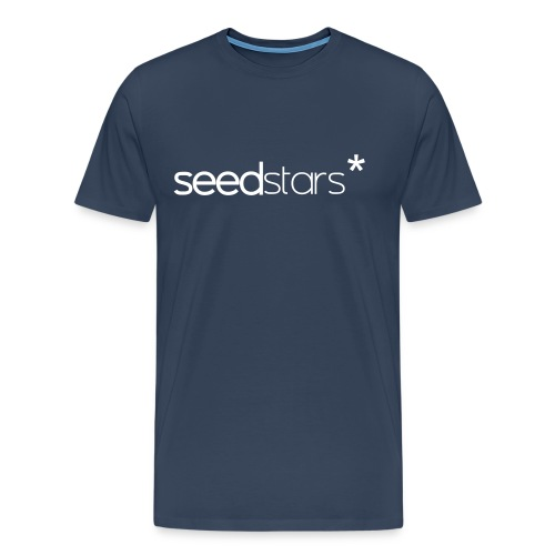 SEEDSTARS* NAVY TEE MALE - Men's Premium T-Shirt