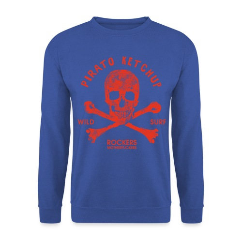 Pirato Ketchup 'special blue edition' (men sweat shirt) - Men's Sweatshirt