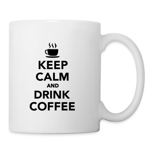 Keep calm and drink coffee - Tazza