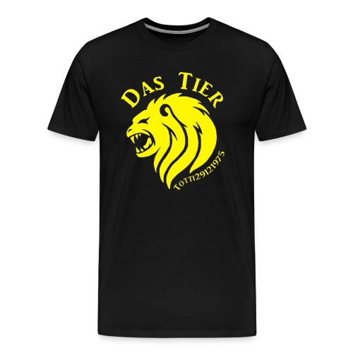Gelbe Bedrohung - Männer Premium T-Shirt