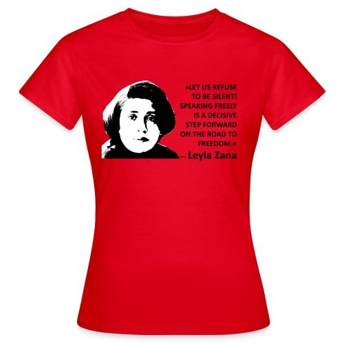 Layla Zana - Frauen T-Shirt