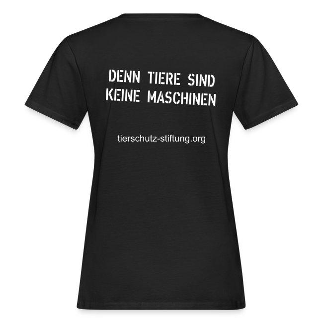 "T-Shirt ""Fine"" bio Girlie"