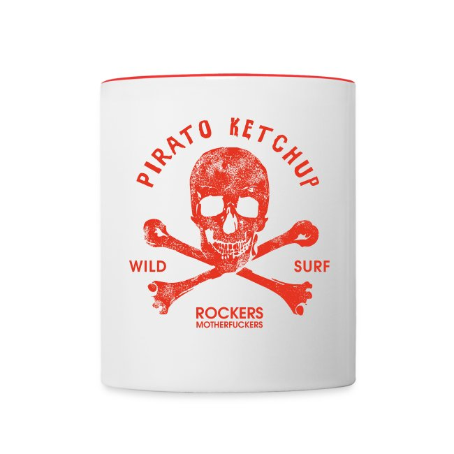 "Pirato Ketchup ""Red Skull"" (retro mug)"