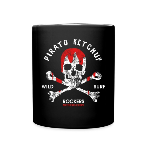 Pirato Ketchup'ed Skull (mug) - Full Colour Mug