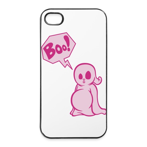 Boo! (iPhone 4/4S - pink) - iPhone 4/4s Hard Case