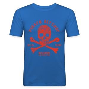 Pirato Ketchup 'special blue edition' (men T shirt) - Men's Slim Fit T-Shirt