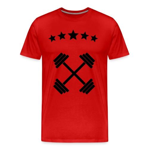 Red arena - Men's Premium T-Shirt