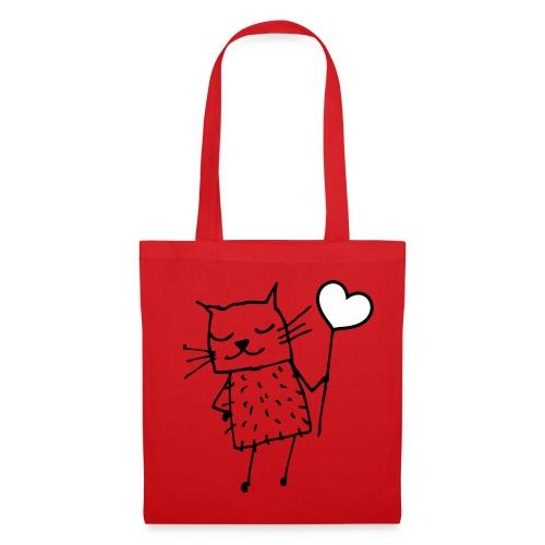 Katzen Tasche - Stoffbeutel