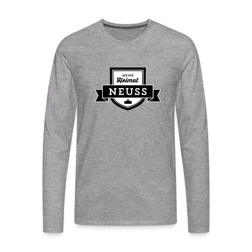 """Meine Heimat """"Neuss"""" Shirt - Männer Premium Langarmshirt"""