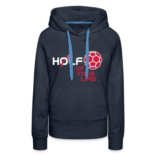 HOLF-Hoodie dark - Frauen Premium Hoodie