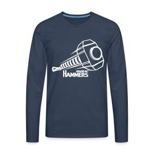 Emblem Longsleeve - Männer Premium Langarmshirt