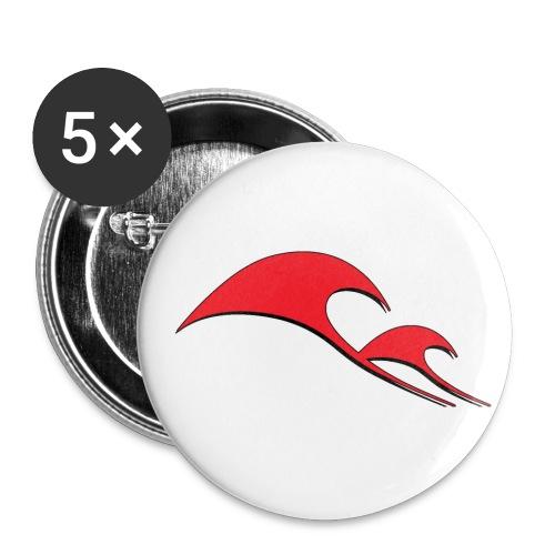 Spilla Rediwave - Confezione da 5 spille piccole (25 mm)