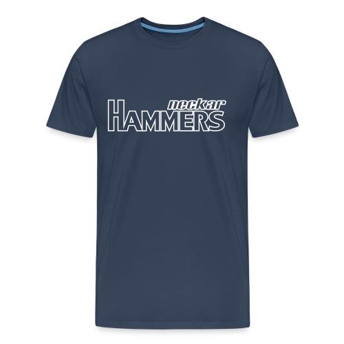 Hammers Shirt (Outlined) - Männer Premium T-Shirt