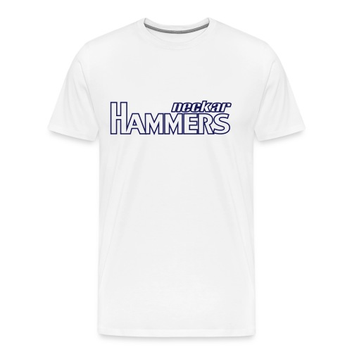 Hammers & Logo Shirt (Outlined) - Männer Premium T-Shirt