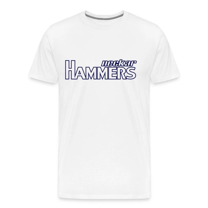 Hammers & Logo Shirt (Outlined) - Männer Premium T-Shirt