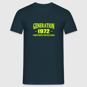 Generation 1972 T-shirts - Mannen T-shirt