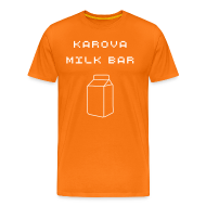 T-Shirts ~ Men's Premium T-Shirt ~ Karova Milk Bar