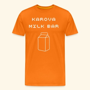 Karova Milk Bar - Men's Premium T-Shirt