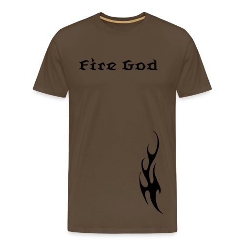 Fire God Mens Tee - Men's Premium T-Shirt
