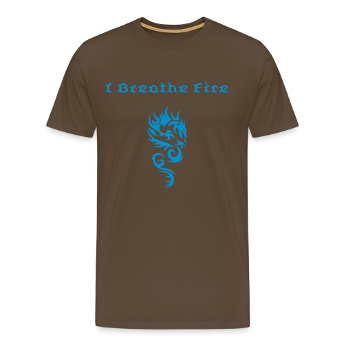 I Breathe Fire Mens Tee - Men's Premium T-Shirt