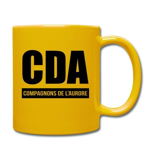 Tasse CDA Jaune - Mug uni
