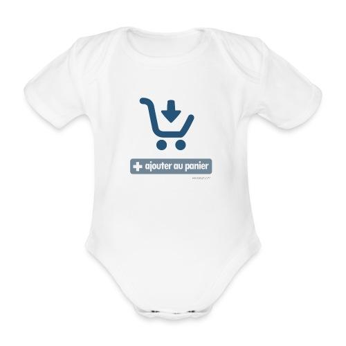 Ajouter au panier - Body bébé bio manches courtes