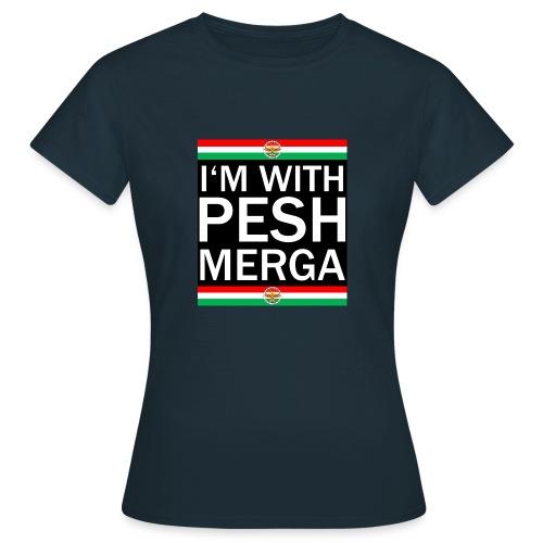 I'm with Peshmerga Premium - Frauen T-Shirt