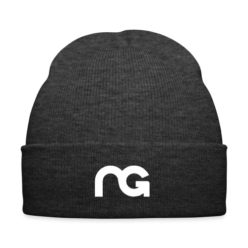 NGM Lue hvit logo - Winter Hat