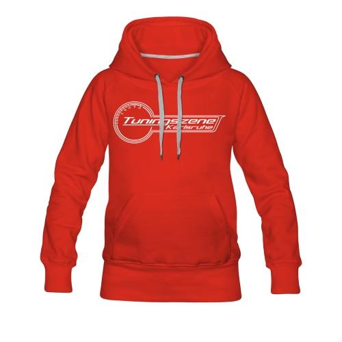 Girl Hoody Red - Frauen Premium Hoodie