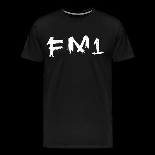 FM1 T-shirt (unisex) - Herre premium T-shirt