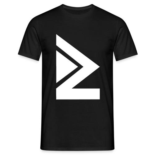Logo blanc HOMME - T-shirt Homme