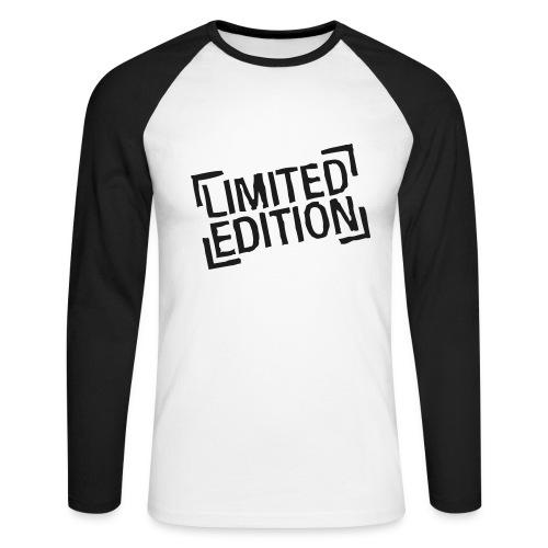 Long black sleves - Men's Long Sleeve Baseball T-Shirt