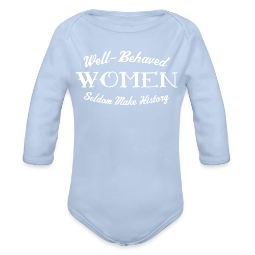 Well-Behaved Long-Sleeve One Piece - Longlseeve Baby Bodysuit