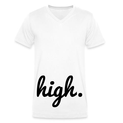 High - Männer Bio-T-Shirt mit V-Ausschnitt von Stanley & Stella