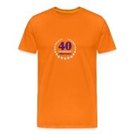 Männer T Shirt 40 Ist Das Neue 30 Geburtstag   Männer Premium T Shirt