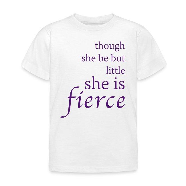 """""""Fierce"""" Kids' T-Shirt"""