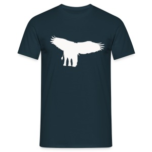 Adlerfant Pure Weiß - Männer T-Shirt