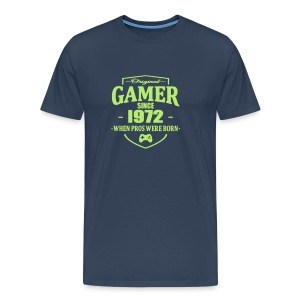 Gamer Since 1972 T-shirts - Mannen Premium T-shirt