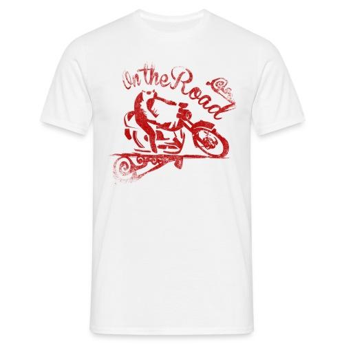 motostyle - Maglietta da uomo