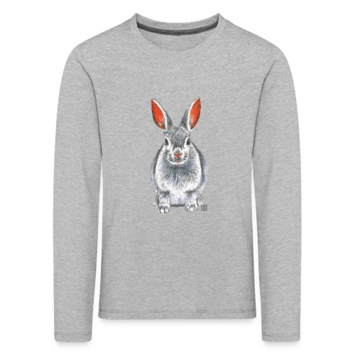 Kinder T-Shirt *Hase* - Kinder Premium Langarmshirt
