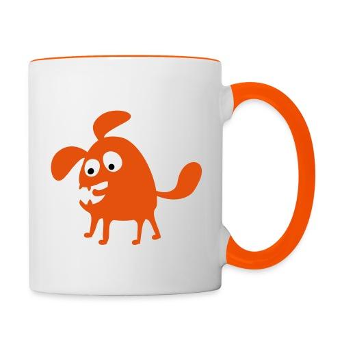 Mug contrasté