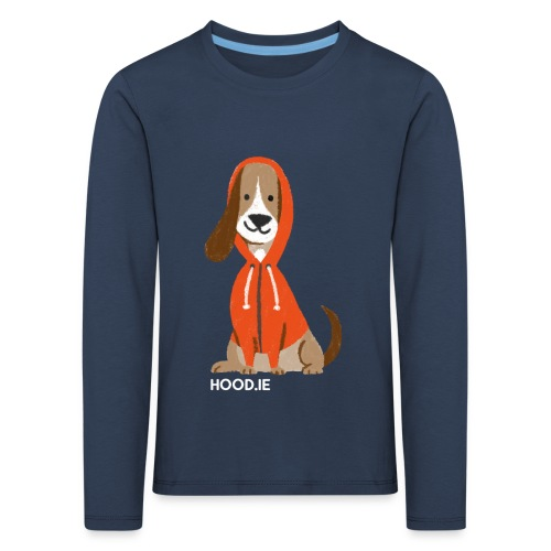 Small Sizes & Kids T-Shirt Black: Dog - Kids' Premium Longsleeve Shirt