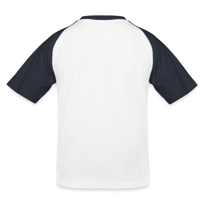 Kids Baseball T-Shirt (White)