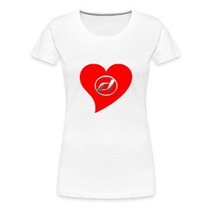 I Heart Daelim TShirt (Daelim Logo, Frauen) - Frauen Premium T-Shirt
