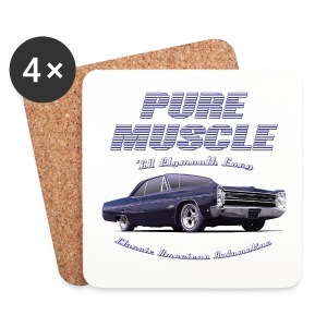 Coasters (set of 4) | Pure Muscle | Classic American Automotive - Coasters (set of 4)