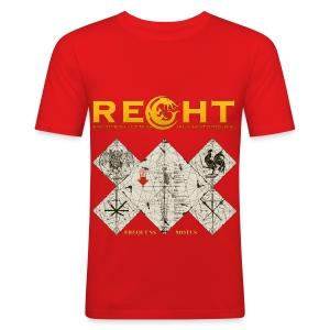 T-Shirt Reght Gérard Thibault - Ici - Homme - Tee shirt près du corps Homme