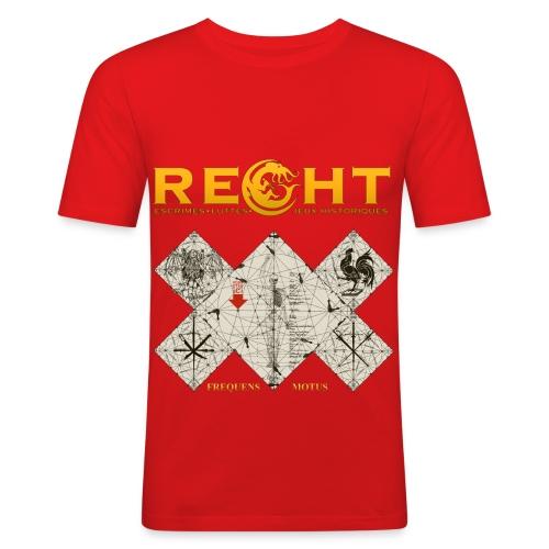 T-Shirt Reght Gérard Thibault - Ici - Homme - T-shirt près du corps Homme