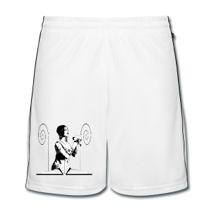 Art Deco Dancer with Flowers - Men's Football shorts