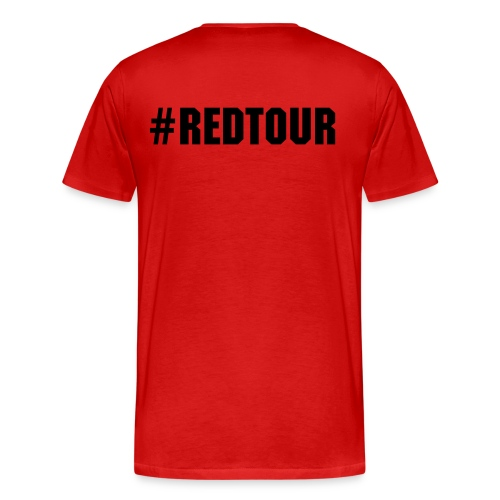 t-shirt homme RED tour  - T-shirt Premium Homme